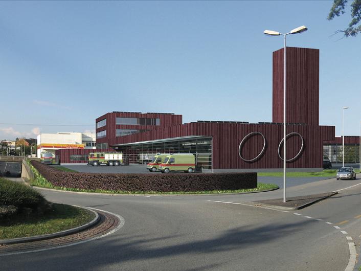 Wallisellen, Neubau Werk- und Feuerwehrgebäude