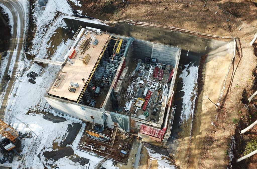 WV Neuhausen, Abschluss Neubau Trinkwasserreservoire